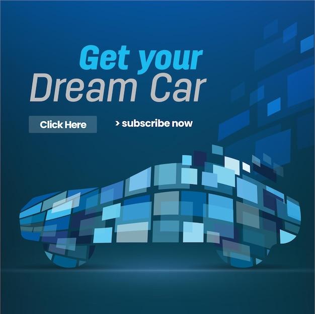 Consiga el coche de sus sueños futurista