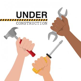 En construcción diseño.