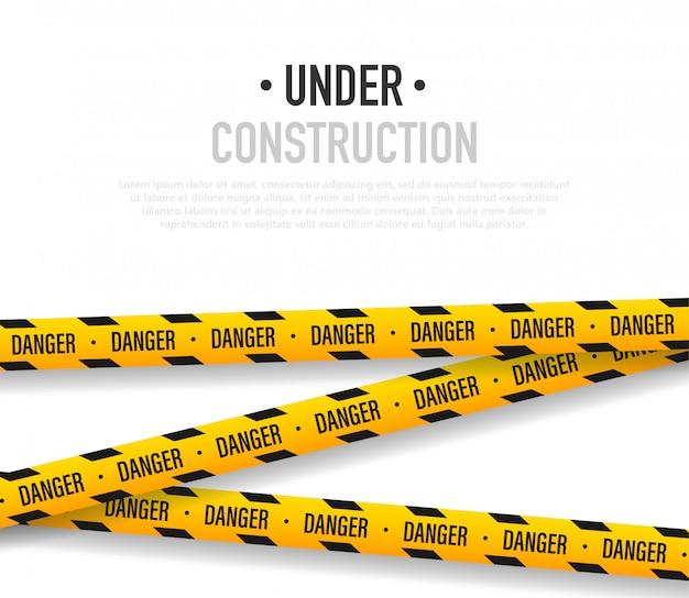 En construcción ilustración