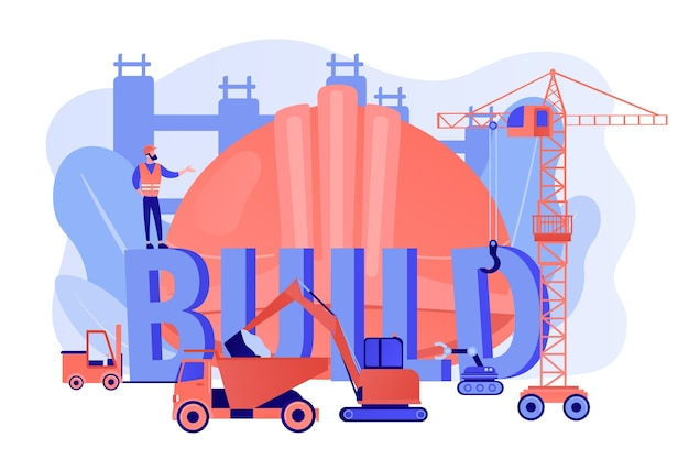 Construcción de transporte empresarial