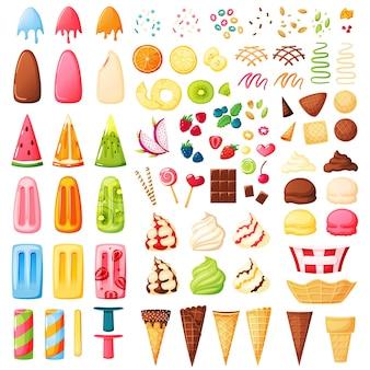 Constructor de helados