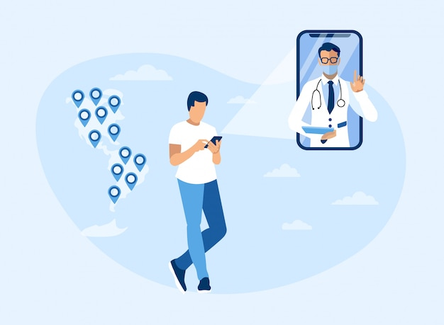 Consulta médica en línea en todo el continente americano
