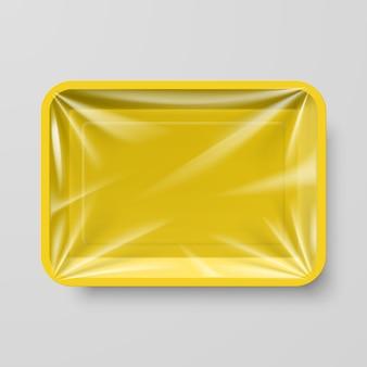 Contenedor de comida de plástico