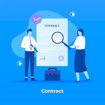 Contrato de acuerdo de asociación