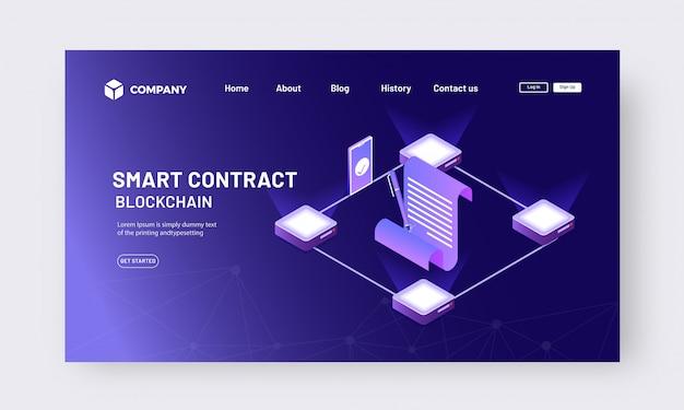Contrato isométrico en línea desde el concepto de aplicación