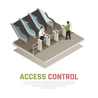 Control de puerta de pago