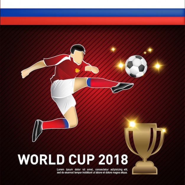 Copa del mundo jugador