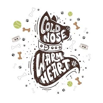 Corazón caliente nariz fría