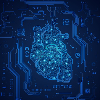 Corazón electrónico
