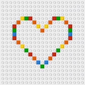 Corazón lego