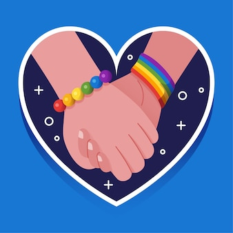 Corazón y manos sosteniendo