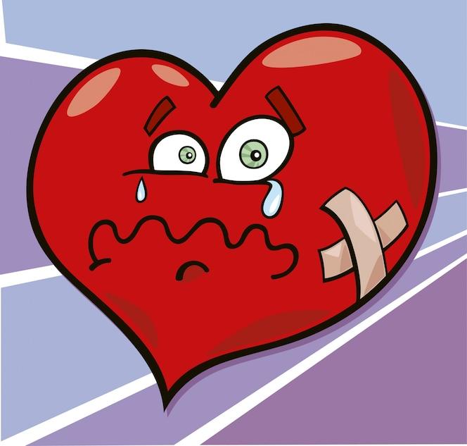 Broken Heart Dibujos Animados | Fotos y Vectores gratis