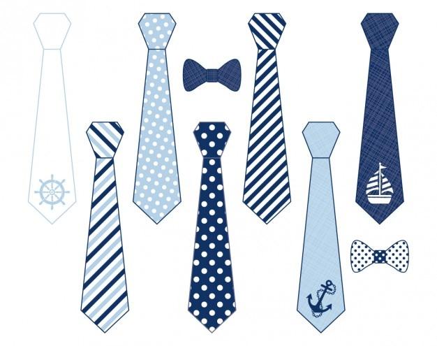 Corbatas de papá