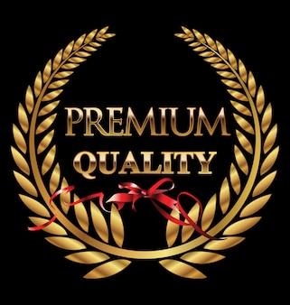 Corona de laurel de calidad premium