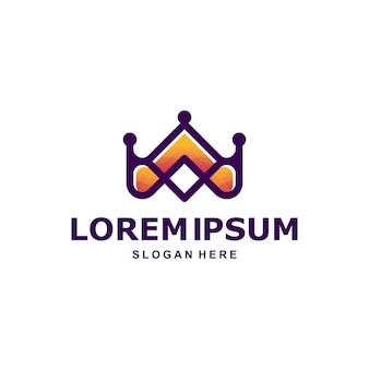 Corona logo premium
