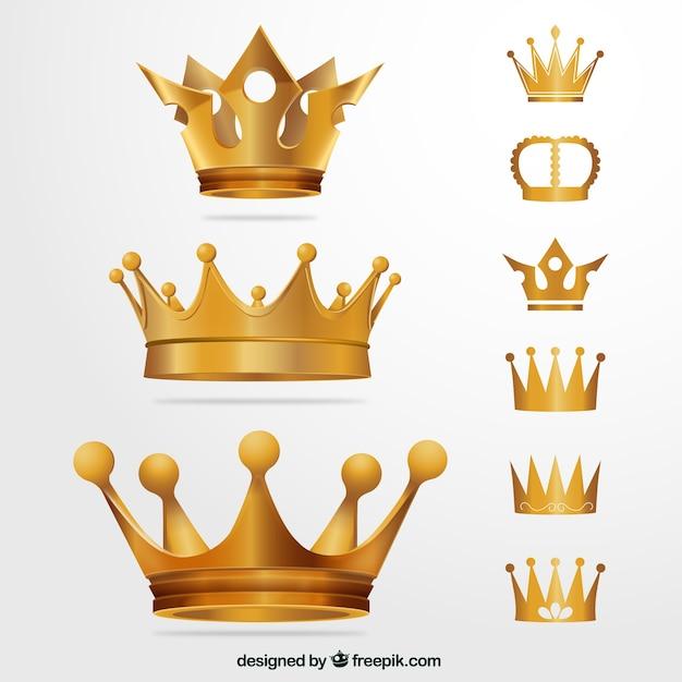 Coronas de oro