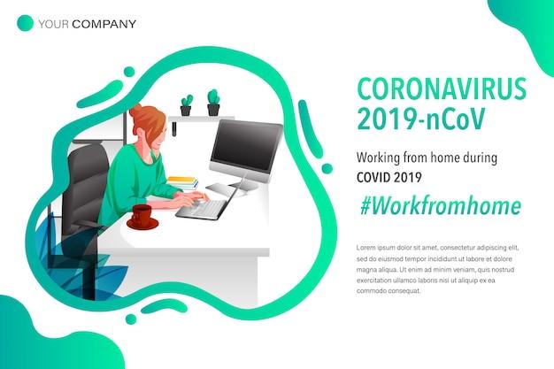 El coronavirus funciona desde casa