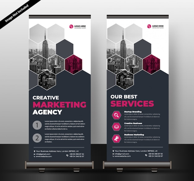 Corporativo roll up banner