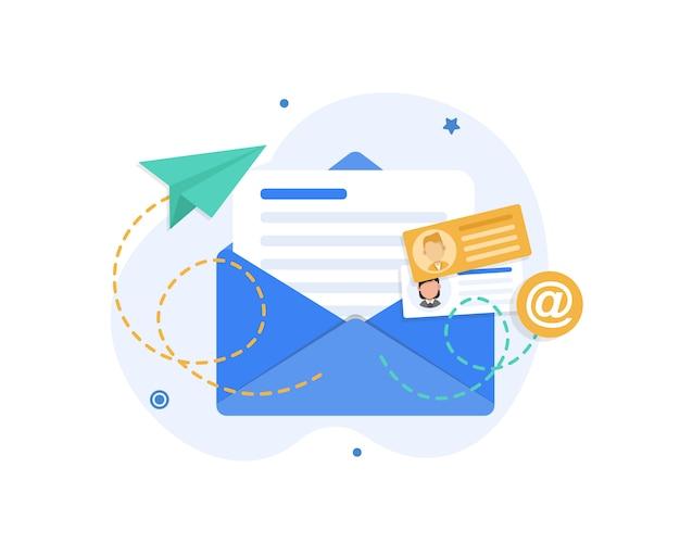 Correo electrónico y mensajería, campaña de marketing por correo electrónico