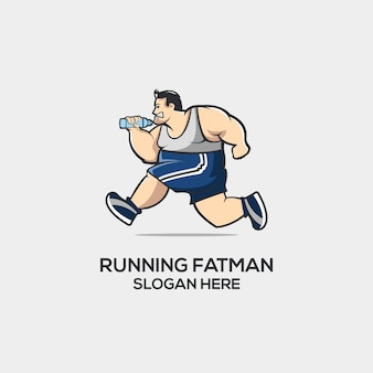 Corriendo fatman