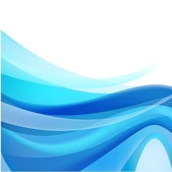 Corriente azul abstracta, fondo de agua de flujo, papel tapiz