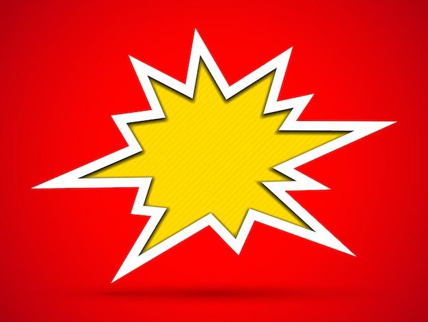 Cortar el signo de bang agujero