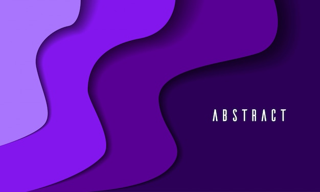 Corte de papel violeta resumen de antecedentes