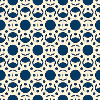 Corte del patrón de encaje abstracto de papel blanco