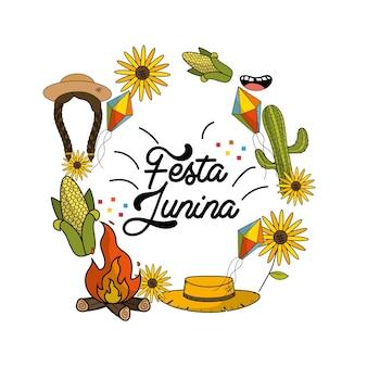 Cosas brasileñas para celebrar la fiesta junina