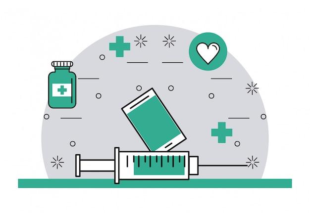 Cosas y elementos medicos