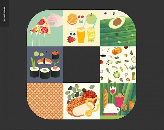 Cosas simples, comida