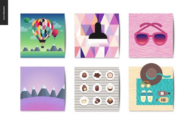Cosas simples postales