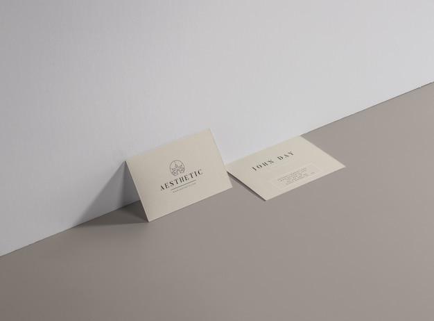 Cosmestic beauty spa tarjeta de empresa