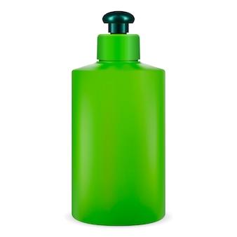 Cosmética botella verde