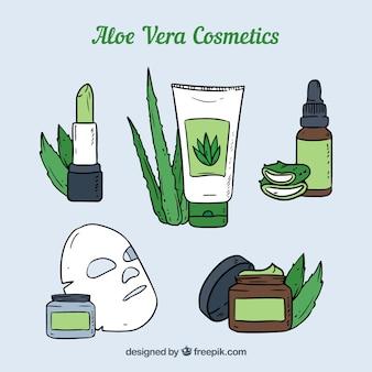 Cosmeticos de aloe vera