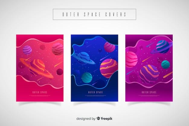 Covers gradientes del espacio exterior