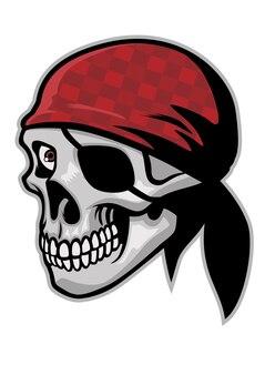 Cráneo de pirata