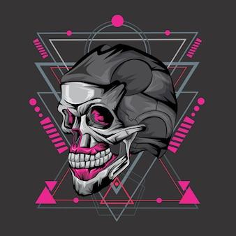 Cráneo y geometría