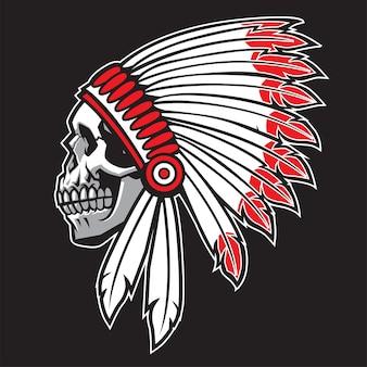 Cráneo jefe indio