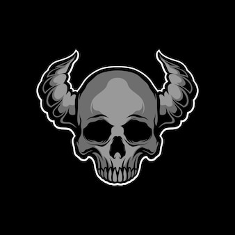 Cráneo de la oscuridad