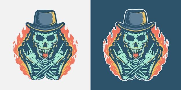 Cráneo de rock and roll