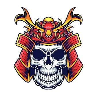 Cráneo samurai