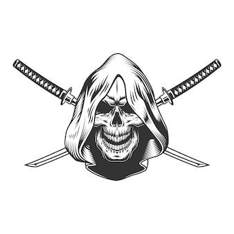 Cráneo de segador en campana