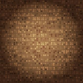 Creado estilo vintage de textura de mosaico marrón