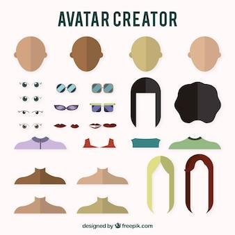 Creador de avatares de chicas