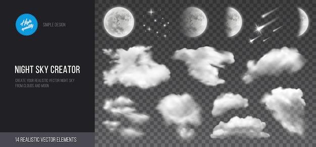Creador del cielo nocturno.