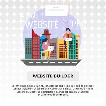 Creador de sitios web
