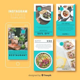 Creativa colección de stories de instagram
