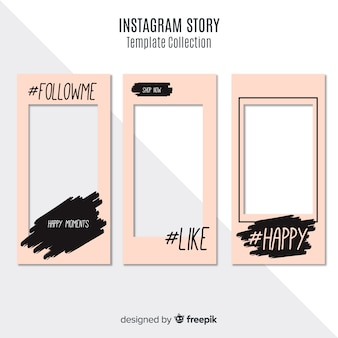 Creativa plantilla de stories de instagram
