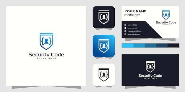 Creative planet orbit labor lab diseño de logotipo abstracto y tarjeta de visita